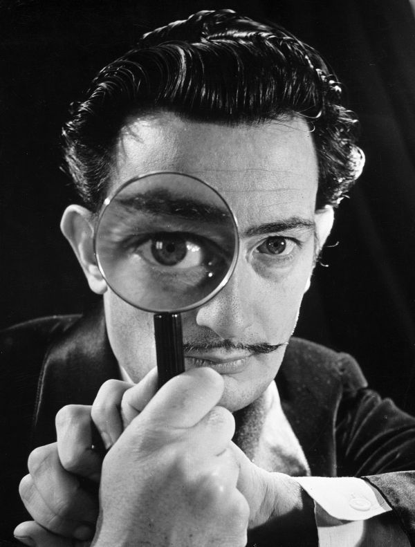 Salvador Dali by Yousuf Karsh