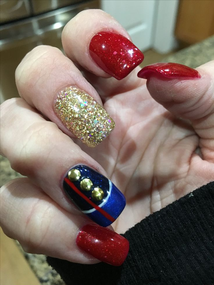 30 best Nail Art- military and first responder images on Pinterest ...