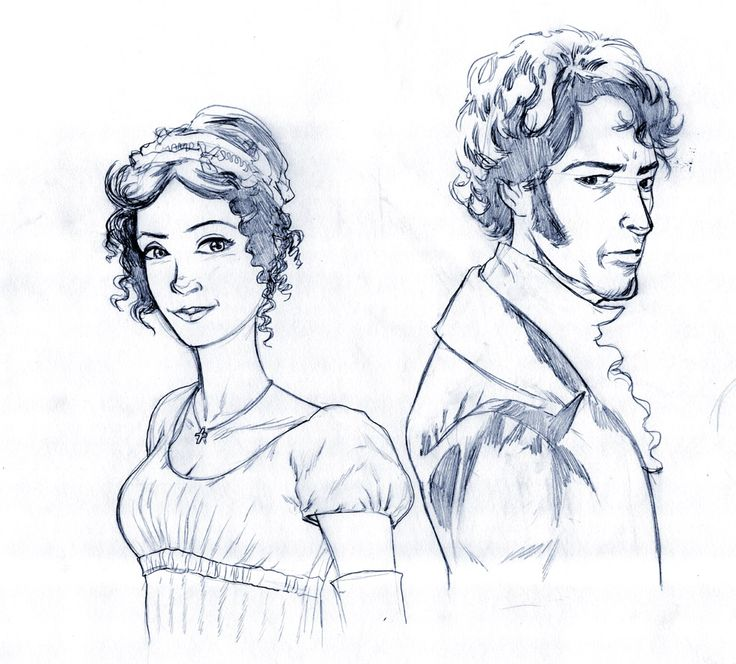 Elizabeth Bennet and Fitzwilliam Darcy