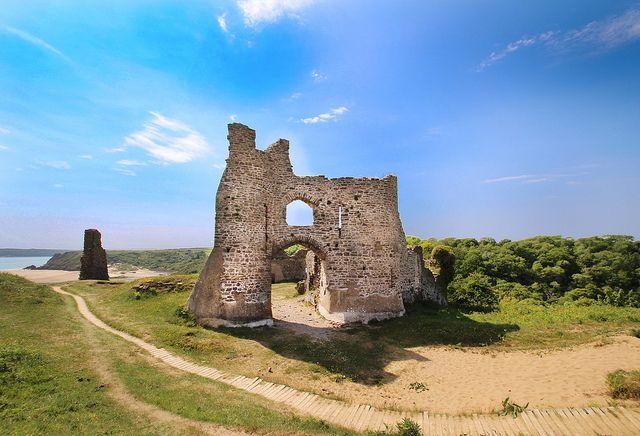 Pennard Castle, Gower   Flickr - Photo Sharing!