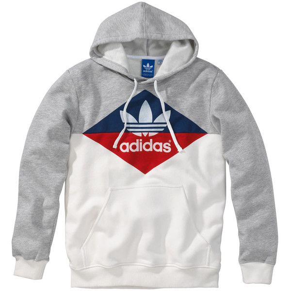 Adidas Originals Hoody ($77) ? liked on Polyvore featuring men\u0027s fashion, men\u0027s  clothing. Men\u0027s HoodiesMens SweatshirtsAdidas ...