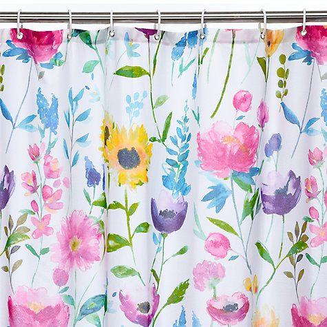 Buy Bluebellgray Flower Field Shower Curtain Online At Johnlewis