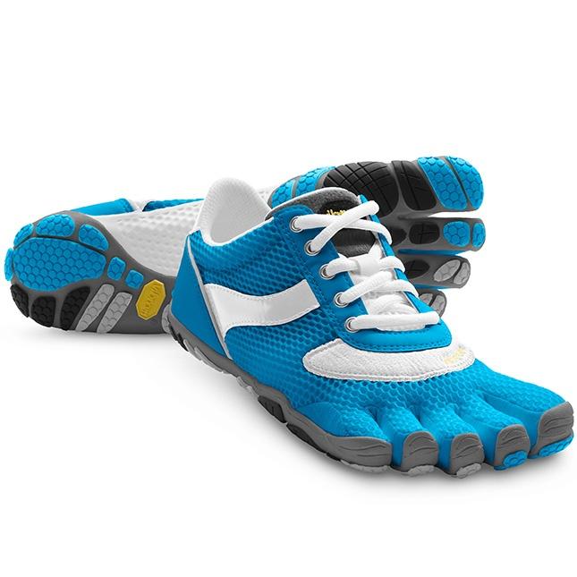Speed in Blue/White $99.95 at ShoeMill.com - Vibram Five Fingers