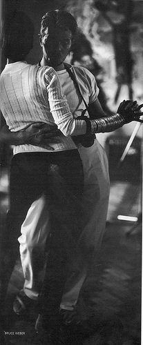 David Bowie & Iman dancing