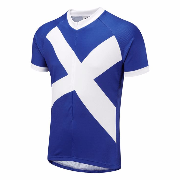 Scotland Flag National Cycling Jersey – Online Cycling Gear