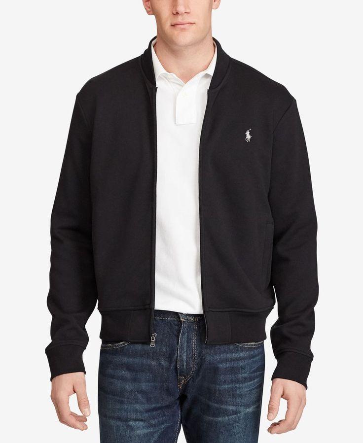 Polo Ralph Lauren Men's Big & Tall Double-Knit Bomber Jacket