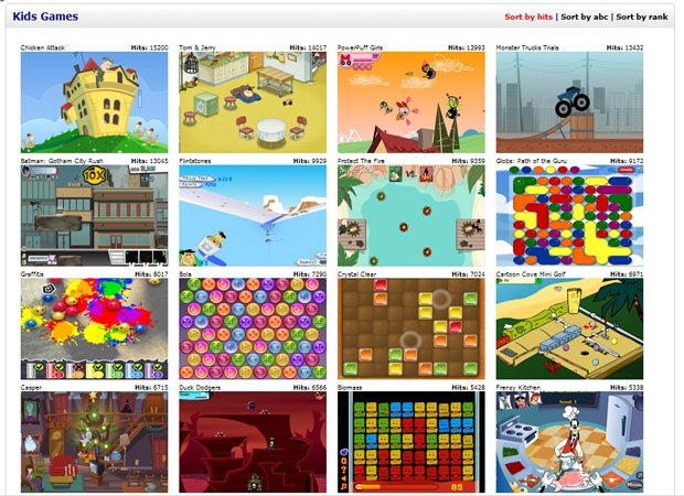 all the best games for kids online