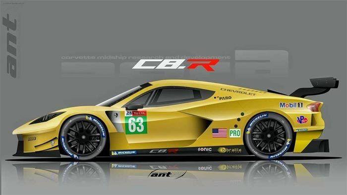 corvette c8 r render cars corvette concept cars cars rh pinterest com