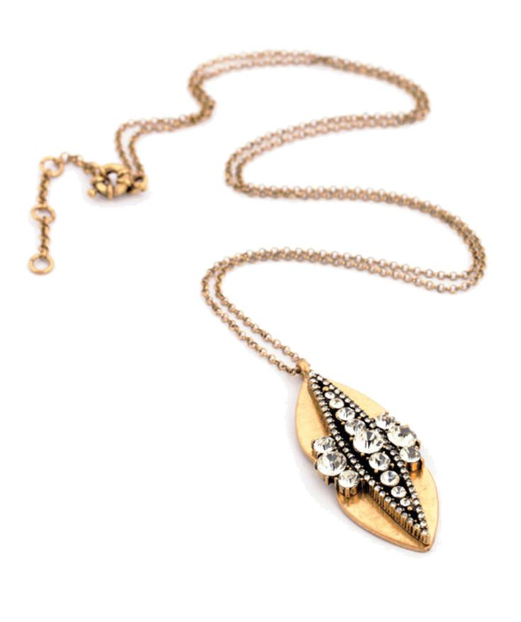 Fashion Jewelry : Golden Capsule Necklace