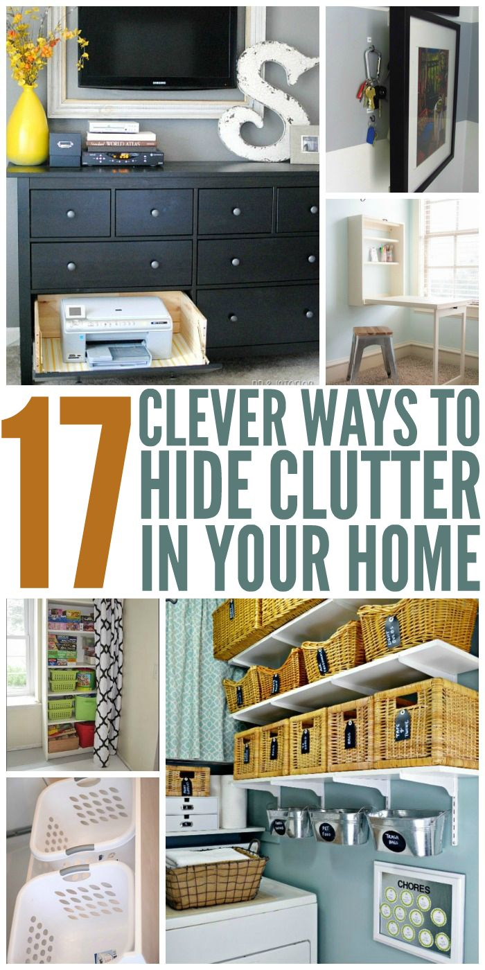 774 best Small House Hacks images on Pinterest | Cleaning challenge ...