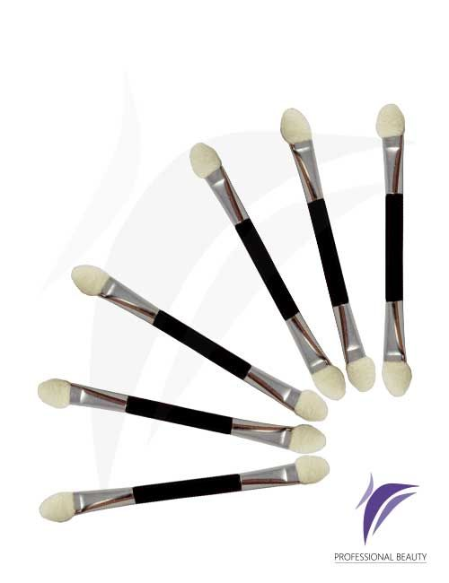 Aplicador de Sombra x6 Unidades Aplicador de Sombra, ideal para la correcta aplicación y difuminación del maquillaje.