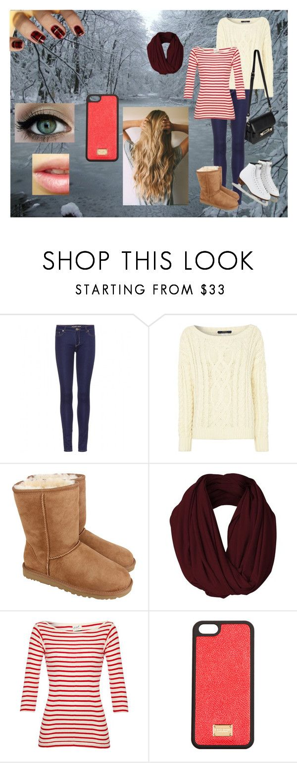 """""""Ice-Skating"""" by fenway158 ❤ liked on Polyvore featuring Disney, MICHAEL Michael Kors, Polo Ralph Lauren, UGG Australia, Edith A. Miller, Dolce&Gabbana and Proenza Schouler"""