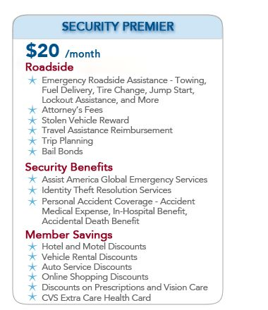 National Motor Club Field Services   The MLM Warehouse.  Just look what $20/mo can do for you & your family!