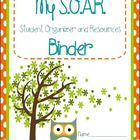 This cute owl-themed download includes:  1 Student S.O.A.R. Binder cover (Student Organizer and Resources)  1 Teacher Binder cover 2013-2014  1 Tea...