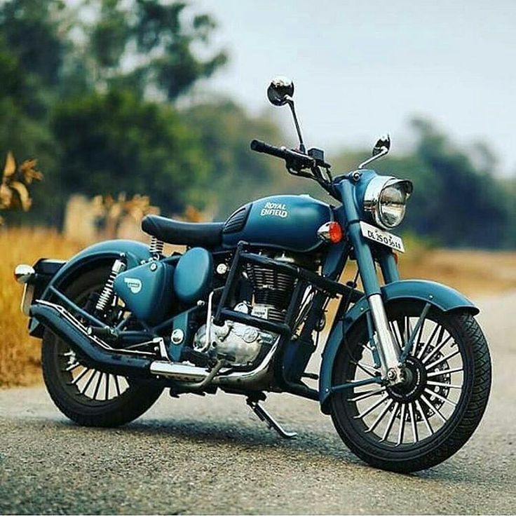 Motorcycles, bikers and more — Royal Enfield
