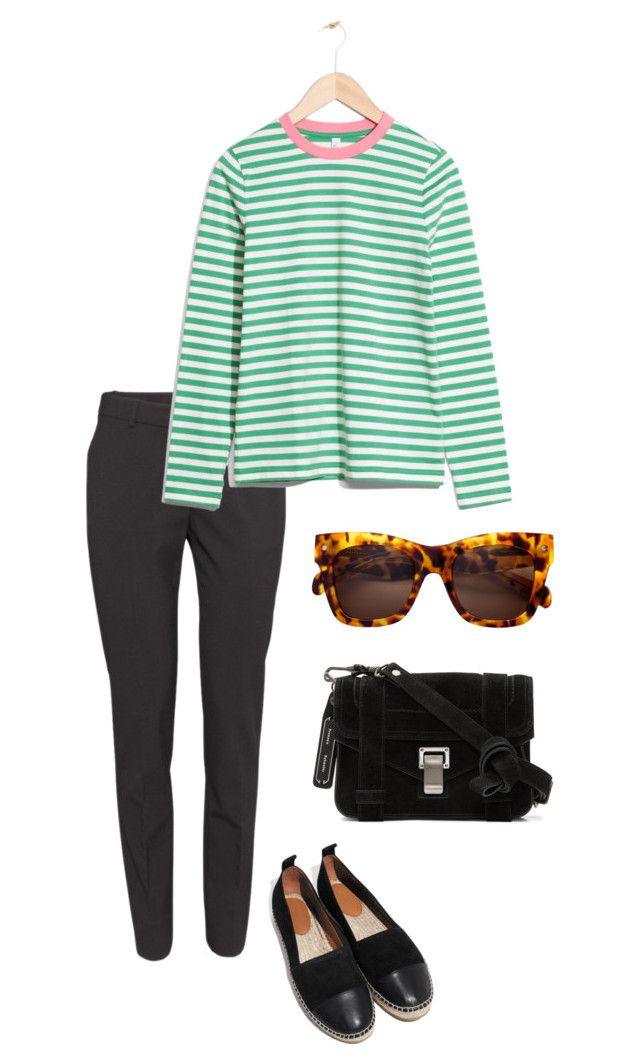 Untitled #186 by juliegodsknielsen on Polyvore featuring H&M and Proenza Schouler