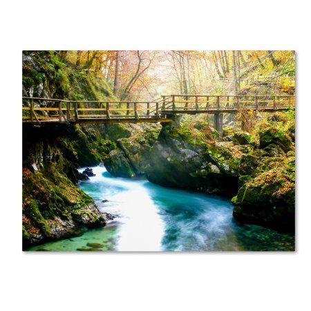 Trademark Fine Art 'Europe in Fall' Canvas Art by Dan Ballard, Size: 14 x 19, Green