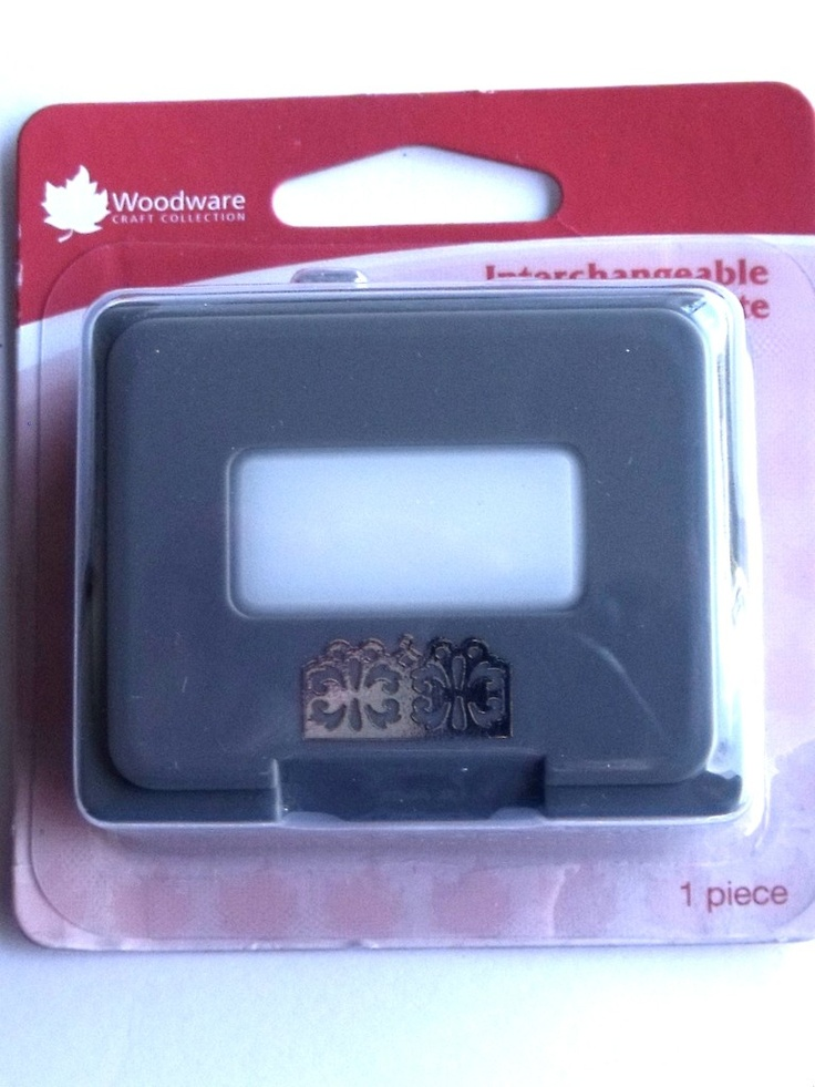WOODWARE CRAFTY EDGER CASSETTE - BUTTERFLY FLORAL    Cassette for use only with the Crafty Edger CP43 Set. For best results use 110gsm - 180gsm craft paper, incorrect thickness will result in the punch jamming.
