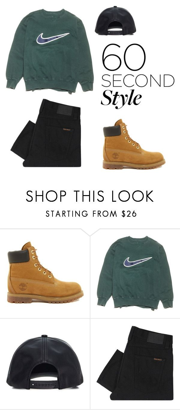 """""""Unbenannt #309"""" by valiii ❤ liked on Polyvore featuring Timberland, NIKE, Wilfred Free, Nudie Jeans Co., DRAKE, views and 60secondstyle"""