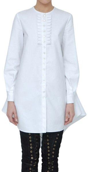 Camicia Cotone Con Ruche(MCQ)