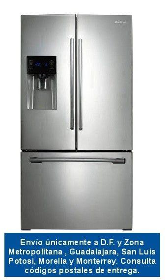 """Samsung - Refrigerador de 26"""" con 3 puertas - Acero Inoxidable"""