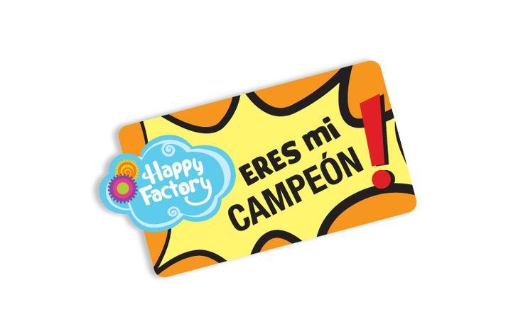 """Eres mi campeón"""