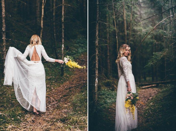 Vintage Inspired Scandinavian Bohemian Wedding Inspiration