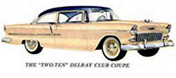 """1955 Chevrolet """"Two-Ten"""" Del Ray Club Coupe"""