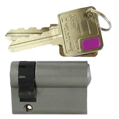 Euro Half Cylinder Lock #motherofpearl #MOP #keys #locks #italian #european #hardware #homerenovation #diy
