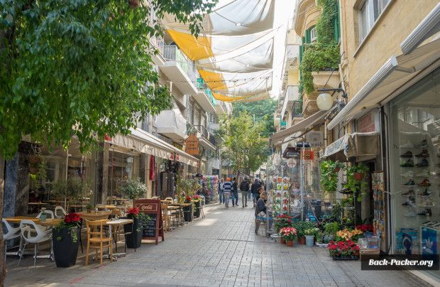 Die Ledras Straße stellt die Fußgängerzone dar und ist der Ausgangspunkt zur Erkundung der Sehenswürdigkeiten in Nikosia