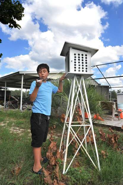 This is an AWESOME story via jaxdotcom - He's 14, legally blind, and tracking #weather in Keystone Heights