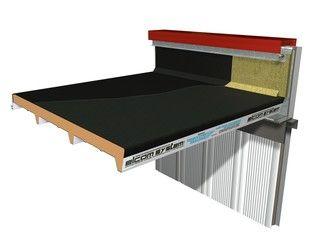 Panel metálico aislante para cubierta TERMOCOPERTURE® RP/ST FLEX-DECK - ELCOM SYSTEM
