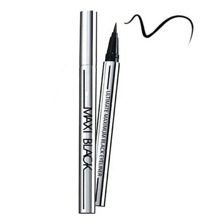 Beauty black waterdichte vloeibare eyeliner pen eyeliner potlood make cosmetics hot maquiagem