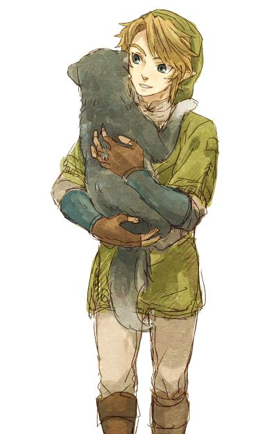 Link, bring the dog back! <---NO! I will take it with me on my adventure!  Sooooon. I'll glitch my wii and take the dog with me.