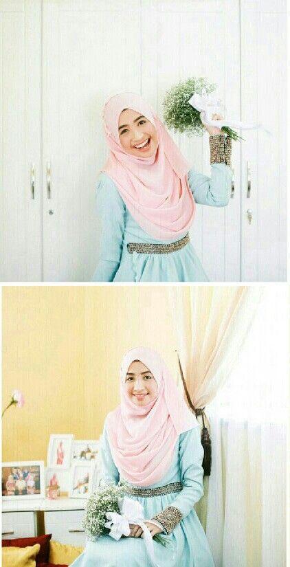 <3 pink & blue #weddingsbyfauzan