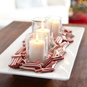 Easy and Affordable Christmas Centerpieces