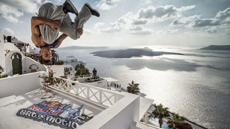 Santorini: Red Bull Art of Motion 2014