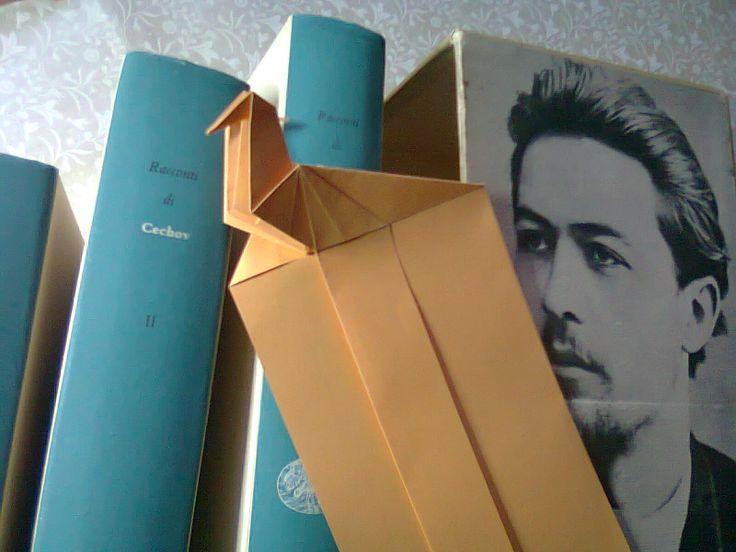 Bookmark and Anton Checov.