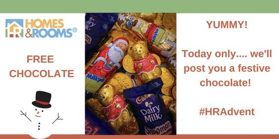 We hope you didn't miss out on the opportunity to claim some more free chocolate? Day 13 isn't unlucky for some... :)