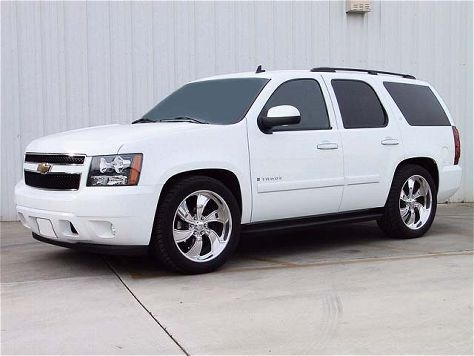 2007 Chevrolet Tahoe Front Side View