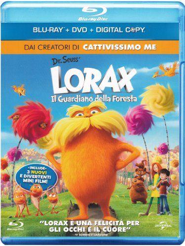 Lorax  Il guardiano della foresta(DVD) [Blu-ray] [IT Import] Svenska Filmer med Svenska Undertexter