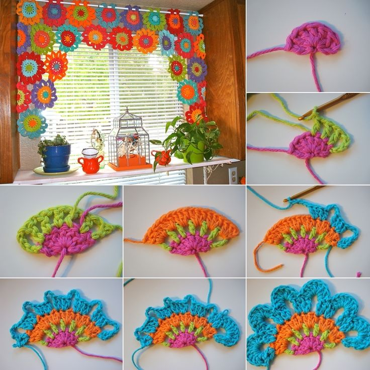 Wonderful DIY Crochet Lace Rose Flower