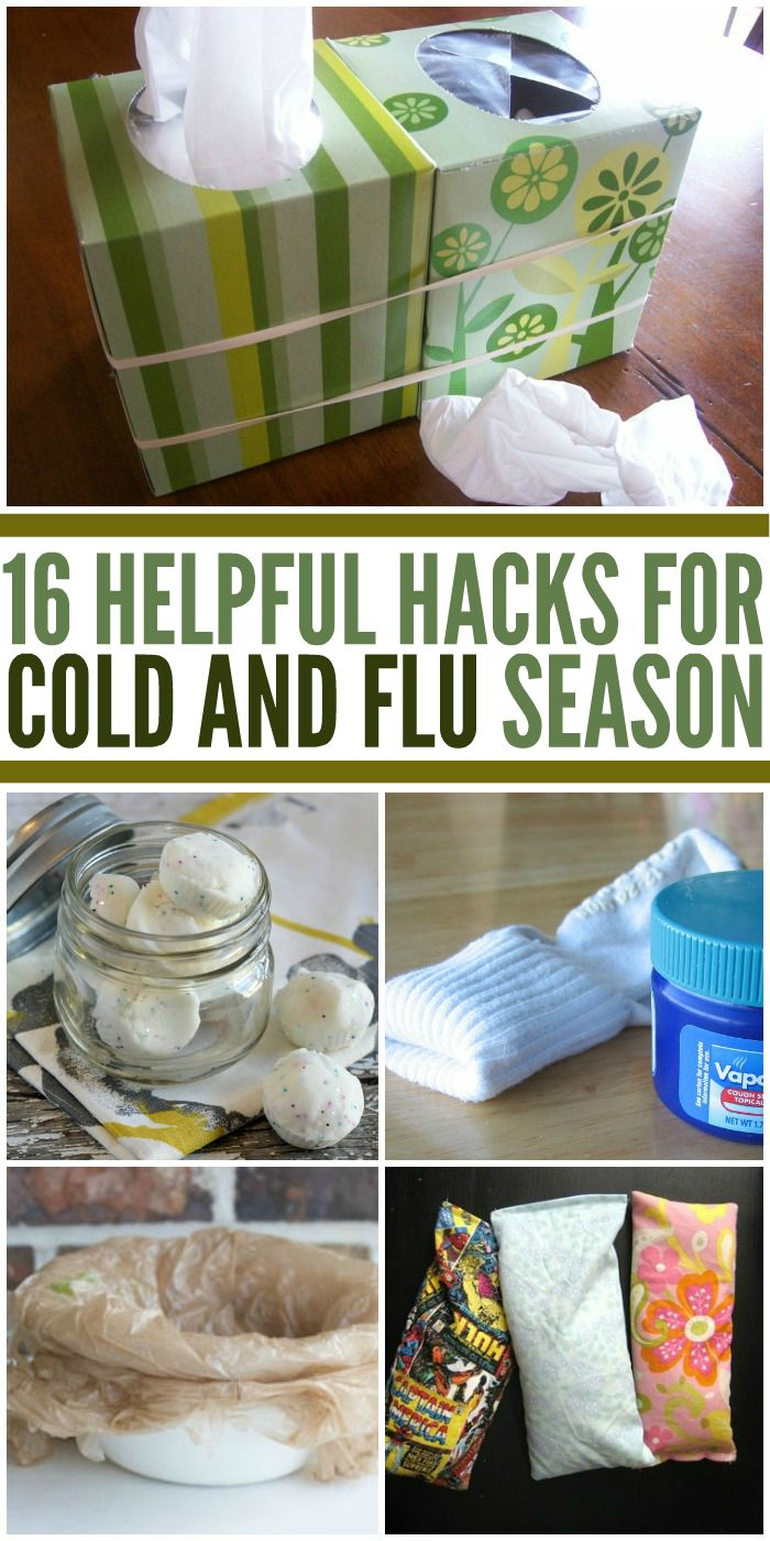 Helpful Tips for Cold and Flu Season - One Crazy House