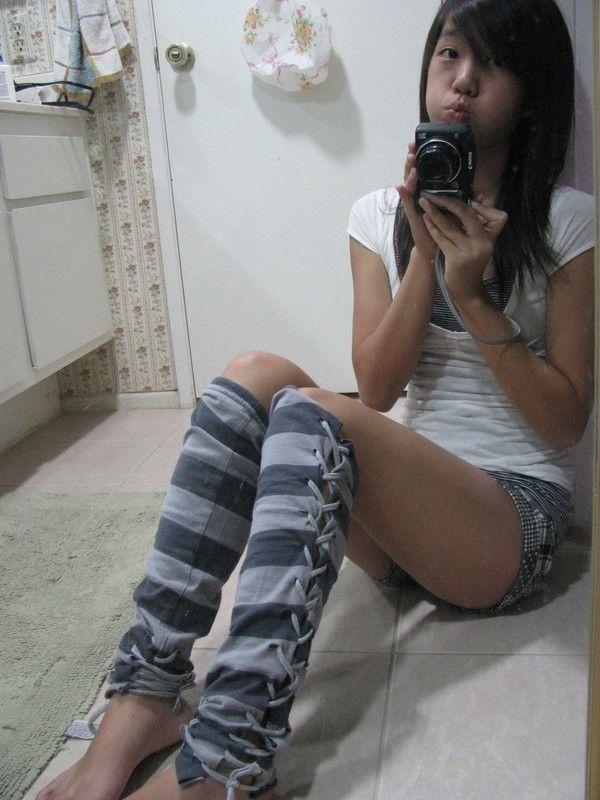 How to make legwarmers. No Sew Leggings/Legwarmers From A T Shirt - Step 12