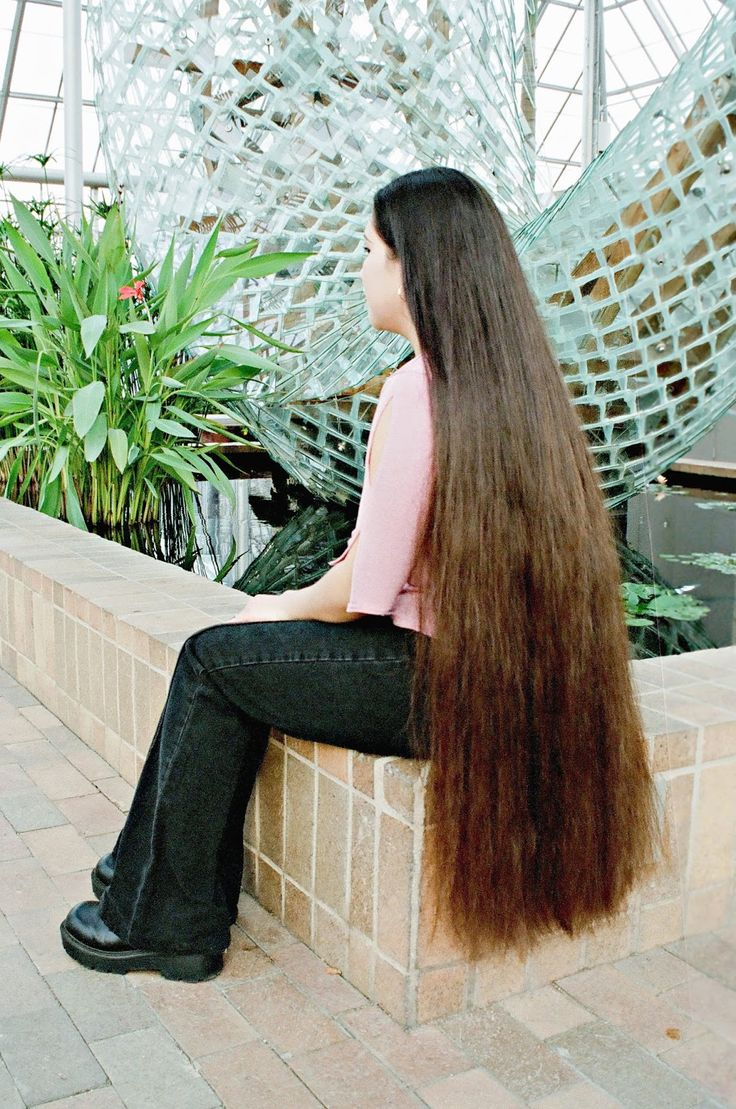 350 best Magnificent Very Long Hair images on Pinterest | Long hair, Longer hair and Beautiful ...