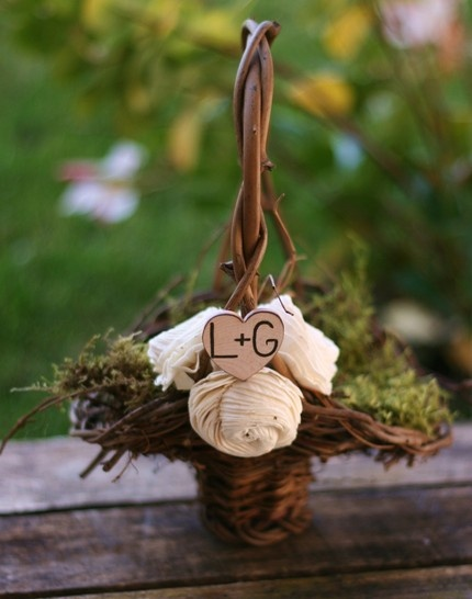 Flower Girl Baskets Diy Pinterest : Best images about flower girl basket on