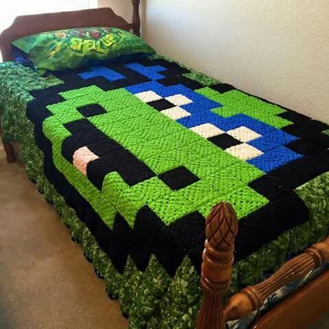 Crochet Pattern For Ninja Turtle Blanket : Ninja turtle granny square Crochet & Amigurumi Corner ...