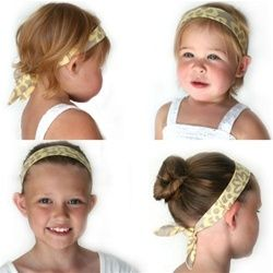 Adjustable Little Star headbands can be worn by toddlers and big kids ~ made in Canada
