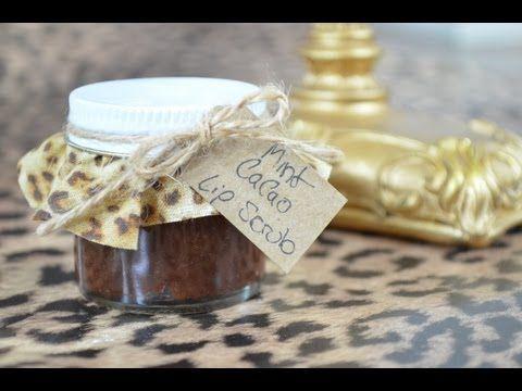 DIY Mint Cacao Lip Scrub Inspired By Lush Mint Julips Lip Scrub.   Beauty Blog: http://pinksofoxy.blogspot.com/2013/02/diy-mint-cacao-lip-scrub.html