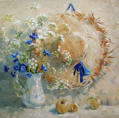 ...Artist painter Russian . Maria Pavlova